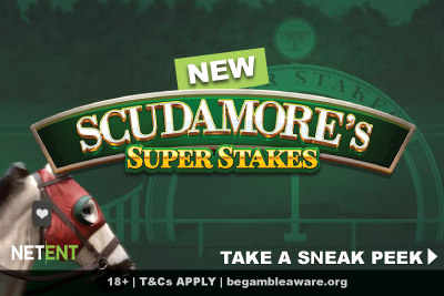 NetEnt Scudamores Super Stakes Mobile Slot Preview