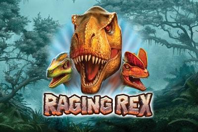 Raging Rex Slot Logo