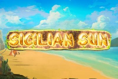 Sicilian Sun Mobile Slot Logo