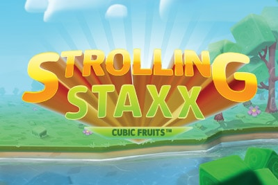 Strolling Staxx Mobile Slot Logo