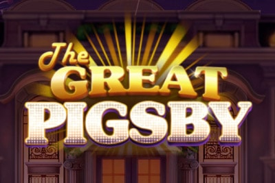 The Great Pigsby Mobile Slot Logo