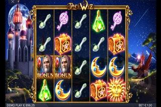 The Wiz Mobile Slot Bonus Scatters