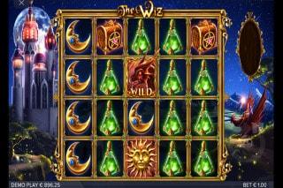 The Wiz Slot Free Spins Bonus