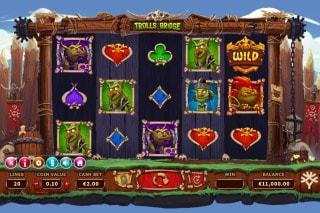 Trolls Bridge Mobile Slot Game