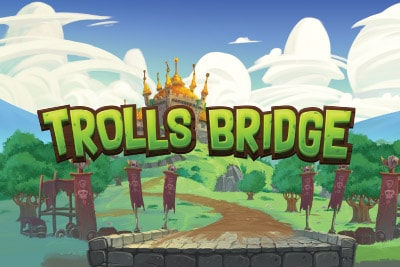 Trolls Bridge Mobile Slot Logo