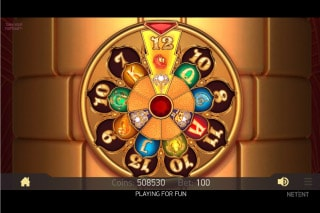 Turn Your Fortune Slot Wheel