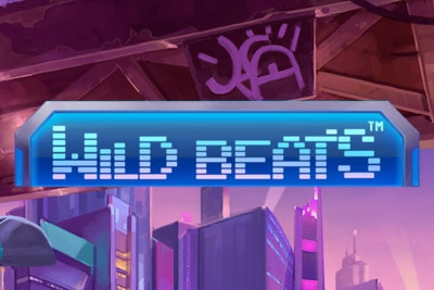 Wild Beats Mobile Slot Logo