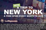 Win A Trip To New York & Free Spins With LeoVegas Casino