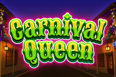 Carnival Queen Mobile Slot Logo