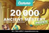 Unearth Real Money At Casumo Casino In Ancient Mystery Promo