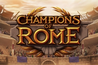 Champions Of Rome Mobile Slot Logo