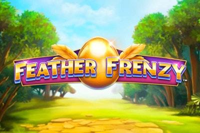 Feather Frenzy Mobile Slot Logo