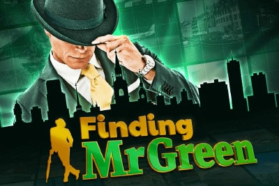 Finding Mr Green Mobile Slot Logo