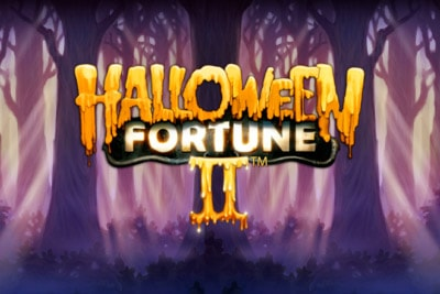 Halloween Fortune II Mobile Slot Logo