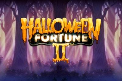 Halloween Fortune II Mobile Slot Logo