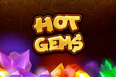 Hot Gems Mobile Slot Logo