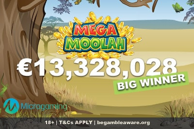 3rd Largest Mega Moolah Slot Big Winner January 2019