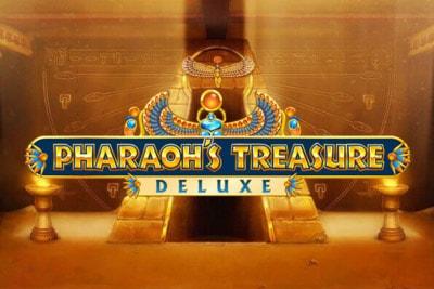 Pharaoh's Treasure Deluxe Mobile Slot Logo