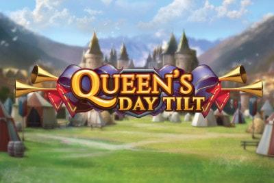 Queen's Day Tilt Mobile Slot Logo
