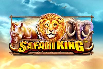 Safari King Mobile Slot Logo