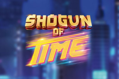 Shogun of Time Mobile Slot Logo