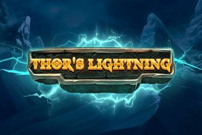 Thors Lightning Mobile Slot Logo