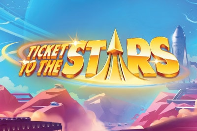 Ticket To The Stars Mobile Slot Logo