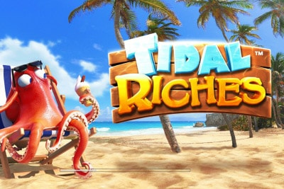 Tidal Riches Mobile Slot Logo