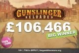 Vera&John Casino Gunslinger Reloaded Slot Big Win