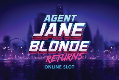 Agent Jane Blonde Returns Mobile Slot Logo