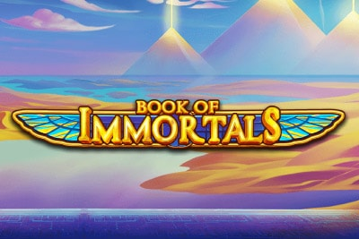 Book of Immortals Mobile Slot Logo