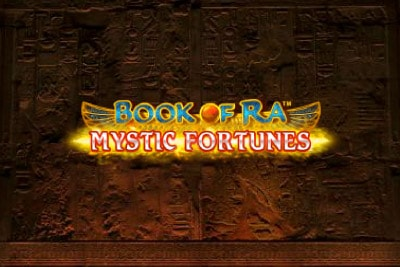 Book of Ra Mystic Fortunes Mobile Slot Logo