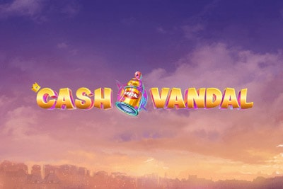 Cash Vandal Mobile Slot Logo