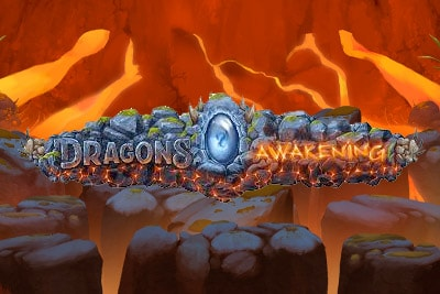 Dragons Awakening Mobile Slot Logo