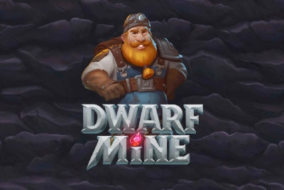 Dwarf Mine Mobile Slot Logo