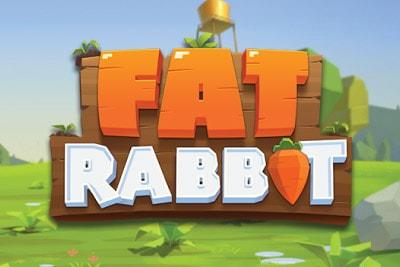 Fat Rabbit Mobile Slot Logo