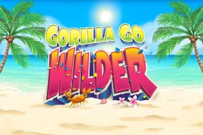 Gorilla Go Wilder Mobile Slot Logo
