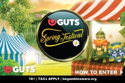 Enter Guts Casino Spring Festival & Win Real Money Prizes