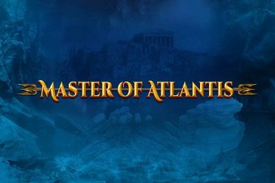 Master of Atlantis Mobile Slot Logo