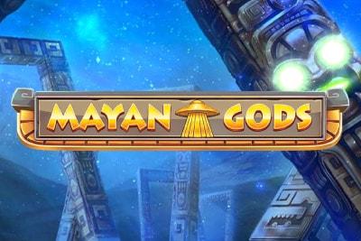 Mayan Gods Mobile Slot Logo