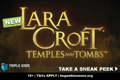 New Lara Croft Slot Machine Preview