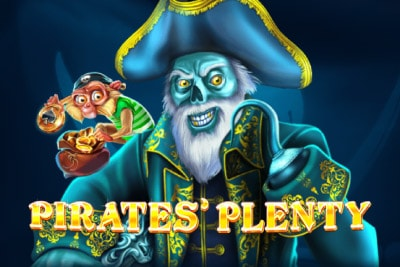 Pirates Plenty Mobile Slot Logo