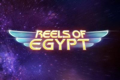 Reels of Egypt Mobile Slot Logo