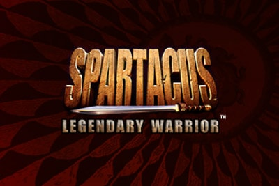 Spartacus Legendary Warrior Mobile Slot Logo