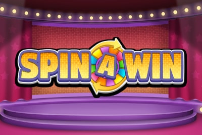 Spin A Win Mobile Slot Logo