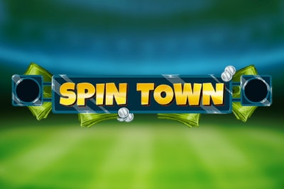 Spin Town Mobile Slot Logo