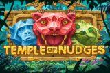 Temple of Nudges Mobile Slot Logo