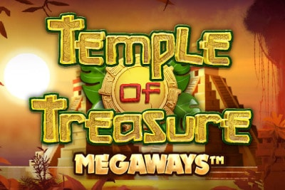 Temple of Treasures Megaways Mobile Slot Logo