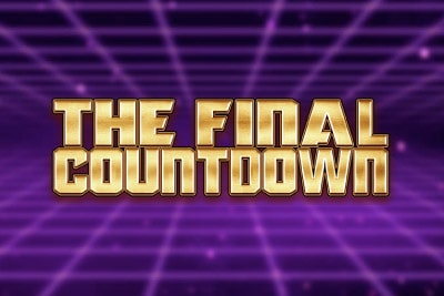 The Final Countdown Mobile Slot Logo