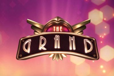 The Grand Mobile Slot Logo